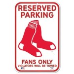 sox white parking sign